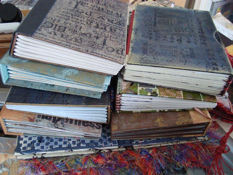 Nine books
